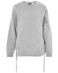 Topshop Corset Side Sweatshirt