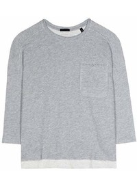 ATM Anthony Thomas Melillo Cotton Blend Sweatshirt