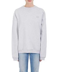 Acne Studios Cotton Fleece Oversized Sweatshirt