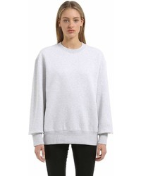 Yeezy Crewneck Heather Cotton Sweatshirt