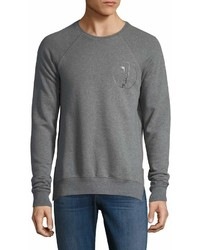 Den Im By Siki Im Printed Cotton Sweatshirt