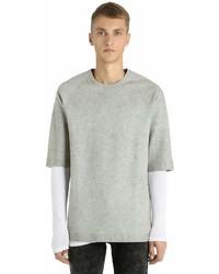 Diesel Black Gold Dirtied Short Sleeve Sweatshirt