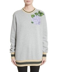 Dolcegabbana hydrangea patch sweatshirt medium 4344347