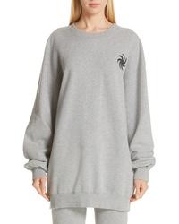 Vetements Elbow Cutout Crewneck Sweatshirt