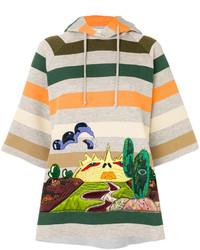 Marc Jacobs Embroidered Striped Sweatshirt