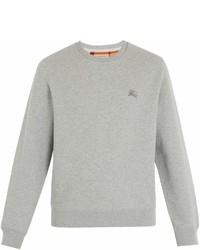 Burberry Gateley Logo Embroidered Sweatshirt