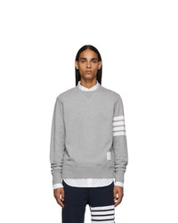 Thom Browne Grey 4 Bar Classic Sweatshirt