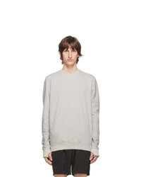 11 By Boris Bidjan Saberi Grey Cotton Sweatshirt