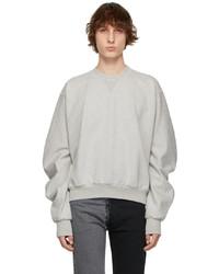 Maison Margiela Grey Cotton Sweatshirt