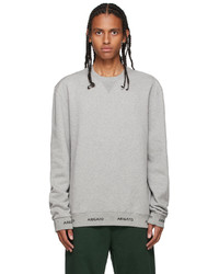 Axel Arigato Grey Feature Sweatshirt