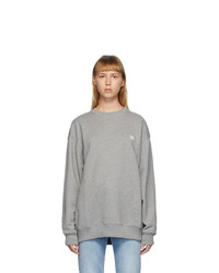 Acne Studios Grey French Terry Oversized Sweatshirt