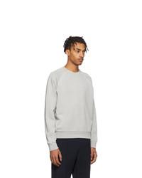 Z Zegna Grey Gart Dyed Sweatshirt