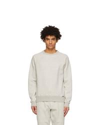Tom Ford Grey Gart Dyed Sweatshirt