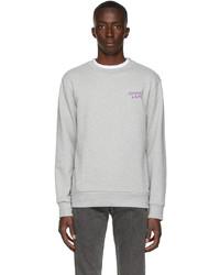 A.P.C. Grey Gimme Five Edition Eddy Sweatshirt