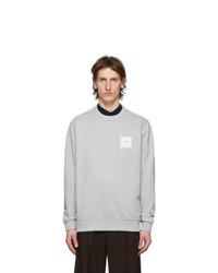 Burberry Grey Logo Applique Kently Sweatshirt