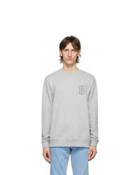 Burberry Grey Logo Dryden Sweatshirt