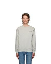 A.P.C. Grey Logo Sweatshirt