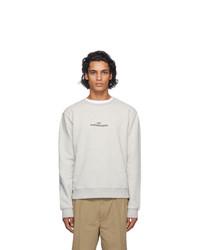 Maison Margiela Grey Logo Sweatshirt
