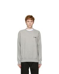 Comme des Garcons Homme Grey Logo Sweatshirt