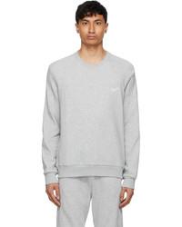 Ermenegildo Zegna Grey Logo Sweatshirt
