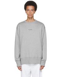 Valentino Grey Logo Sweatshirt