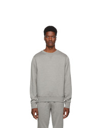 Ralph Lauren Purple Label Grey Madison Cn Polo Sweatshirt