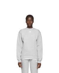 adidas Originals Grey Must Haves 3 Stripes Sweatshirt
