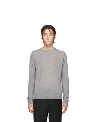 Acne Studios Grey Niale Fruit Sweatshirt