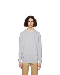 Lacoste Grey Organic Cotton Sweatshirt