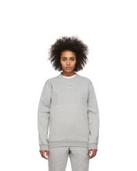 adidas Originals Grey Outline Crewneck Sweatshirt