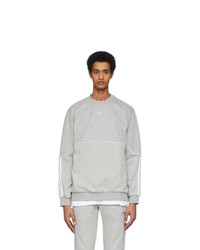 adidas Originals Grey Outline Crewneck Sweatshirt