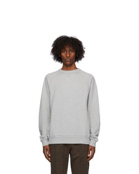 Dries Van Noten Grey Raglan Sweatshirt