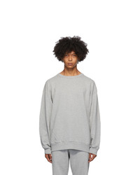 Dries Van Noten Grey Relaxed Sweatshirt