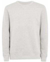 Topman Grey Selected Homme Gray Sweatshirt