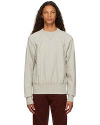 Maison Margiela Grey Shrunken Sweatshirt