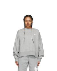 Nike Grey Sportswear Essentials Sweatshirt