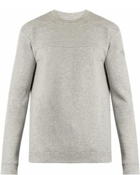 Hamilton And Hare Crew Neck Cotton Blend Sweatshirt