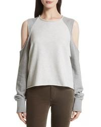 Rag & Bone Jean Standard Issue Cold Shoulder Sweatshirt