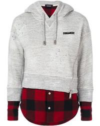 Dsquared2 Layered Sweatshirt Top