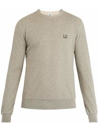C.P. Company Logo Print Cotton Sweatshirt