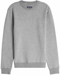 Woolrich Logo Sweatshirt With Cotton