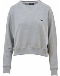 Calvin Klein Logoed Grey Sweatshirt
