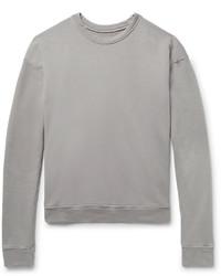 The Elder Statesman Loopback Cotton Jersey Sweatshirt