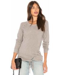 Chaser Love Knit Raglan Sweatshirt