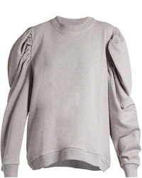 MARQUES ALMEIDA Marquesalmeida Puff Sleeved Cotton Jersey Sweatshirt