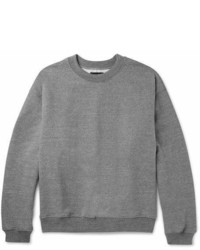 Fear Of God Mlange Loopback Cotton Blend Jersey Sweatshirt