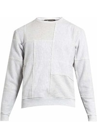 Longjourney Nash Patchwork Cotton Sweatshirt