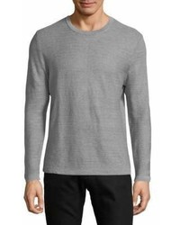 Hugo Boss Ollivio Striped Linen Sweatshirt