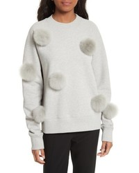 Pompom sweatshirt medium 5262356