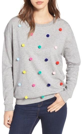 2a8d5db7f2 $110, South Parade Pompom Sweatshirt